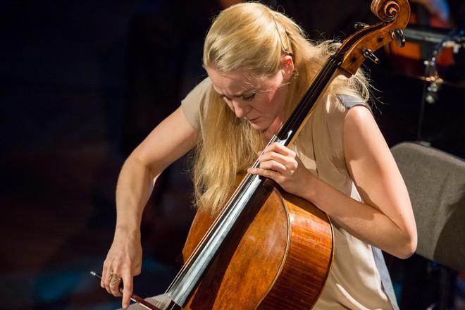 Klasika a audiovizuální koncert - Konstanze von Gutzeit - Moravský podzim 2015 (foto Petr Francán)