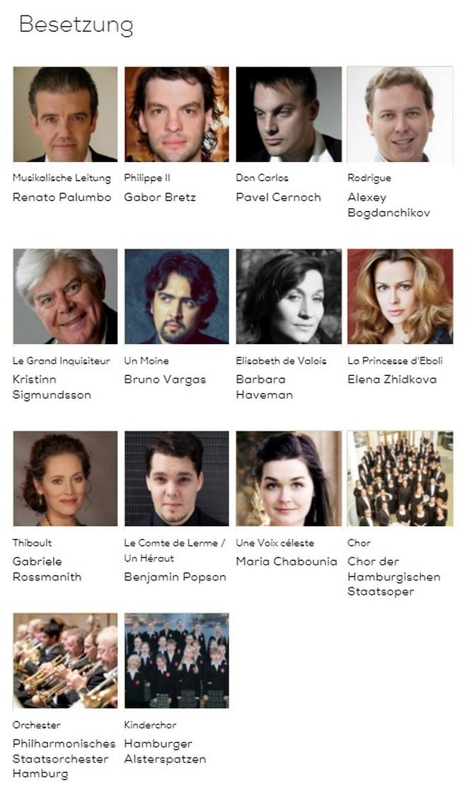 Giuseppe Verdi: Don Carlos - Hamburk 2015
