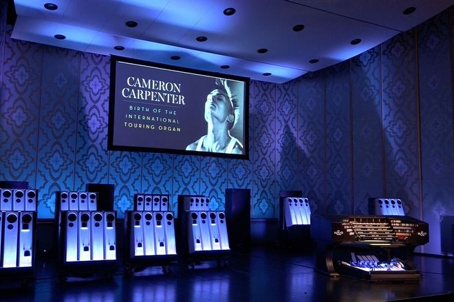 Cameron Carpenter - International Touring Organ (foto archiv Struny podzimu)