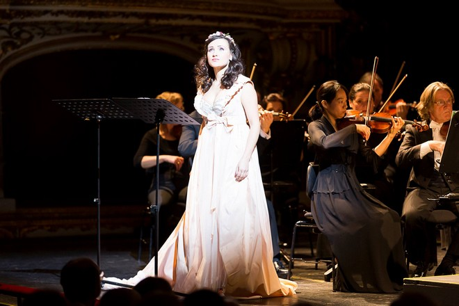 Engelbert Humperdincks: Dornröschen - Tatjana Miyus (Röschen) - Oper Graz 2015 (foto Oper Graz/Werner Kmetitsch)