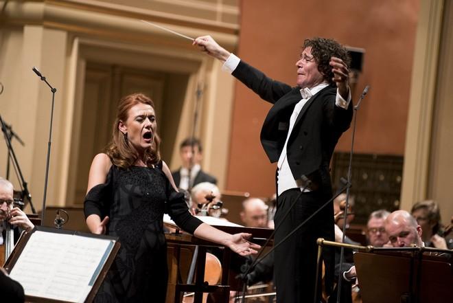 Robin Ticciati, Magdalena Kožená, Česká filharmonie – Rudolfinum Praha 2015 (foto Petr Kadlec/Česká filharmonie)