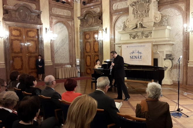 Wenzel Grund, Jitka Čechová - Malostranské hudební slavnosti 2015 (foto Jan Páleníček)