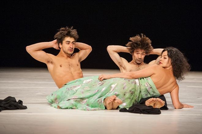 Como el musguito en la piedra, ay si, si, si - Damiano Ottavio Bigi, Rainer Behr, Morena Nascimento - Brooklyn Academy of Music Opera House 2012 (foto archiv)