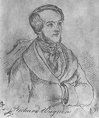Richard Wagner (Ernst B. Kietz)