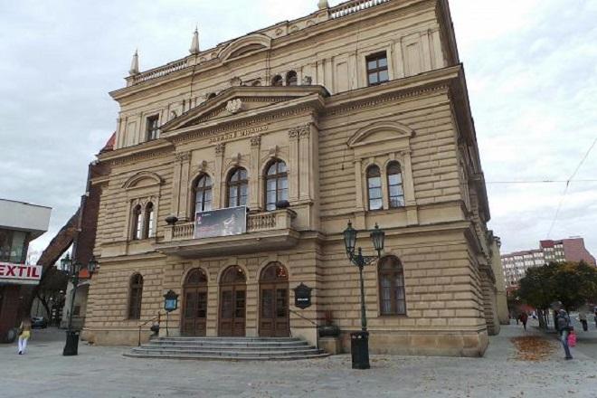 Slezské divadlo Opava (foto archiv)