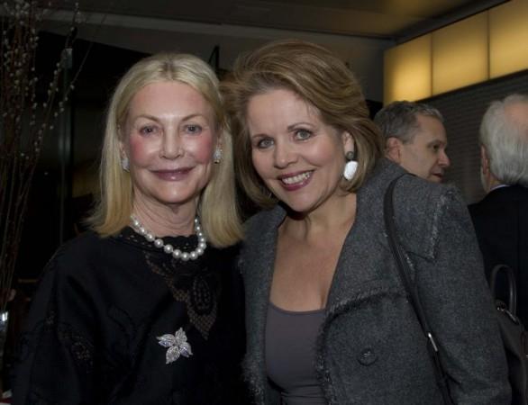 Yveta Synek Graff a Renée Fleming (foto archiv)