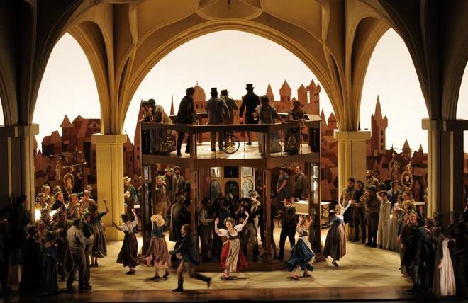 Richard Wagner: Die Meistersinger von Nürnberg - San Francisco Opera 2015 (foto San Francisco Opera/Robert Kusel)
