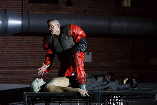 Philip Glass: In the Penal Colony - Boston Lyric Opera 2015 (foto FB Boston Lyric Opera)