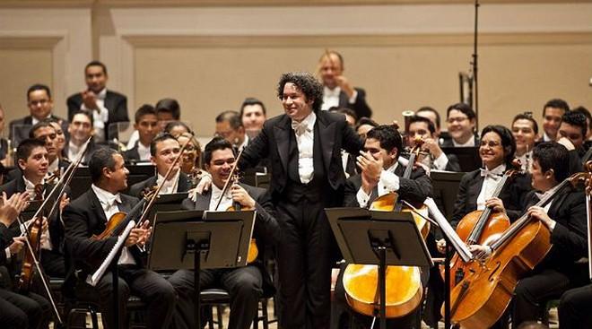 Simón Bolívar Symphony Orchestra of Venezuela, Gustavo Dudamel (foto Ramin Talaie/ilustrační foto)