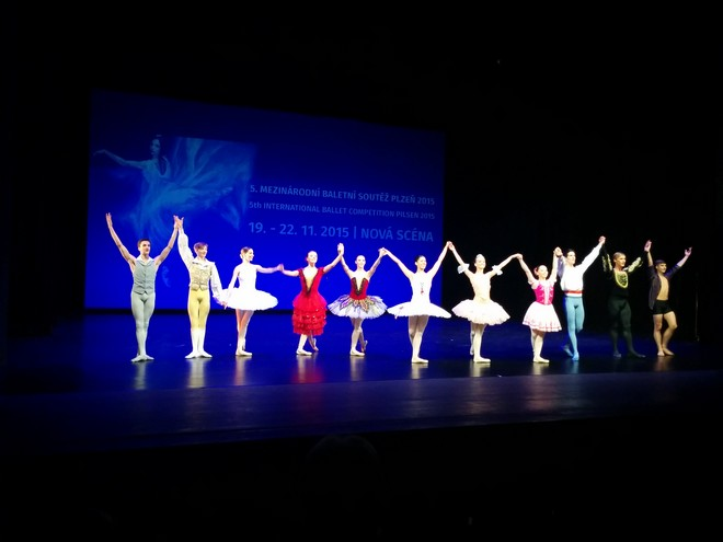 Mezinárodní baletní soutěž Plzeň 2015 – Nové divadlo Plzeň 2015 (foto archiv autorky)