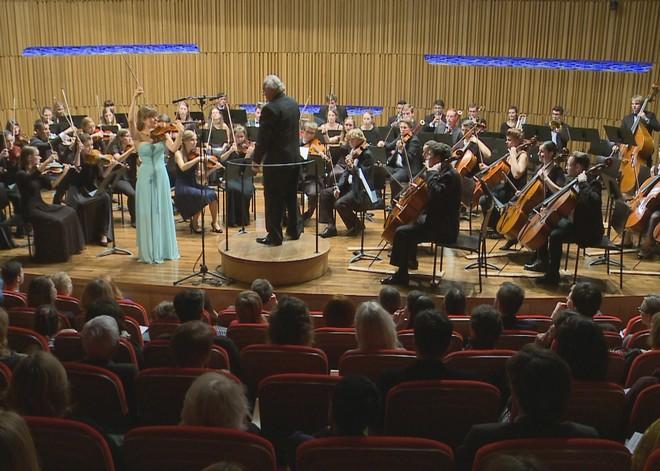 Kultura v srdci Prahy 2015: Zahajovací koncert - koncertní sál Pražské konzervatoře Praha 2015 (foto Milan Kormout)
