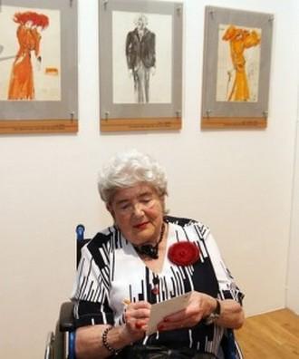 Inez Tuschnerová (foto archiv Moravského zemského muzea)