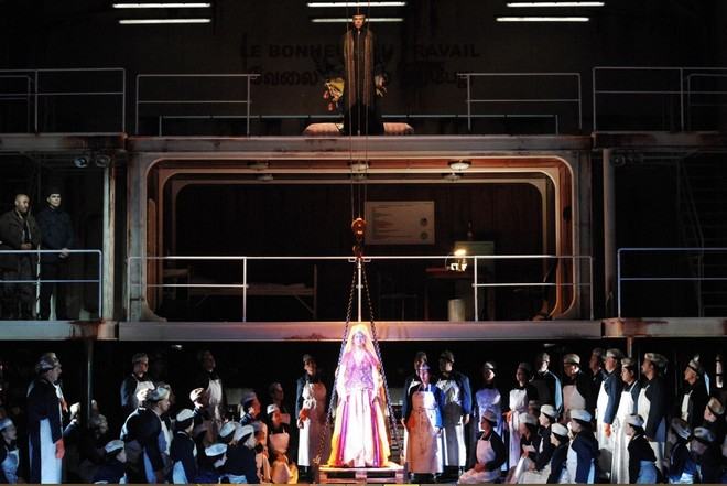 Georges Bizet: Les Pêcheurs de perles - Opernhaus Zürich 2015 (foto Opernhaus Zürich)