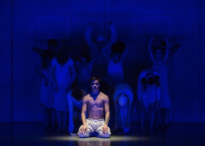 Nižinskij - Boh tanca - choreografia Daniel de Andrade - Igor Leushin (Nižinskij), SND 2015 (foto Peter Brenkus)
