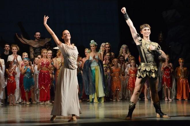 Odysseus - choreografie Robert Balogh - Baletní studio při Moravském divadle Olomouc - (foto FB MD Olomouc)