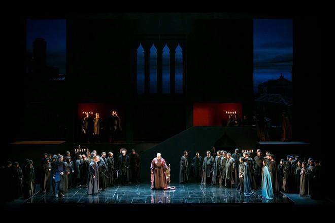 Giuseppe Verdi: Simone Boccanegra - Teatro Carlo Felice Janov 2015 (foto Marcello Orselli)