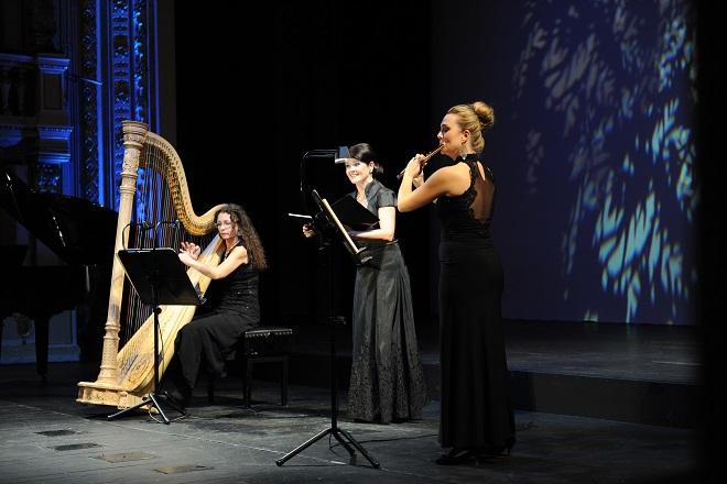 Voci da camera: Katarína Turnerová, Ľubica Vargicová, Jana Gazdíková - SND Bratislava 2015 (foto Alena Klenková)