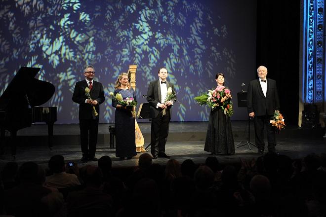 Voci da camera: Róbert Pechanec, Jana Nagy-Juhasz, Filip Jaro, Ľubica Vargicová, Peter Mikuláš - SND Bratislava 2015 (foto Alena Klenková)