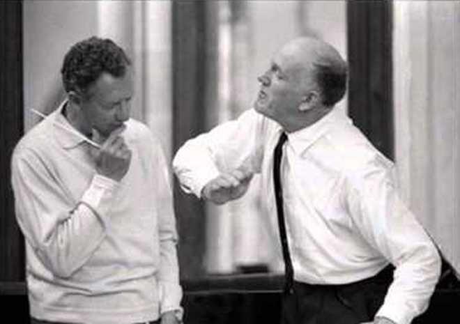 Benjamin Britten a Svjatoslav Richter (foto archiv)