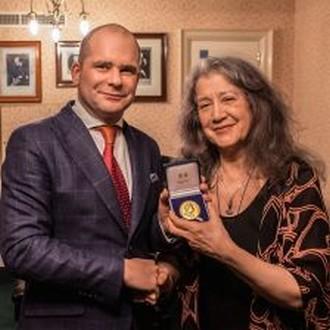 Martha Argerich (foto archiv autora)