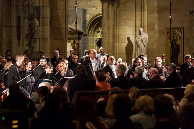 Giuseppe Verdi: Messa da Requiem - chrám sv. Víta Praha - 9. 11. 2015 (foto FB PKF - Prague Philharmonia)