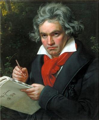 Ludwig van Beethoven (Joseph Karl Stieler, 1820)
