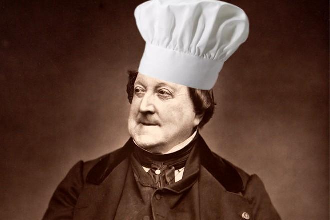 Gioachino Rossini (foto archiv autora)