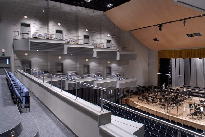 Sál Filharmonie Hradec Králové (foto archiv)