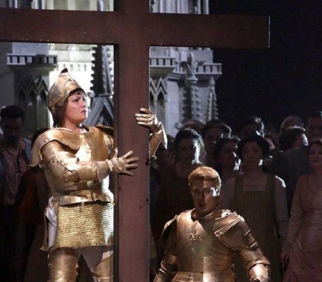 Giuseppe Verdi: Giovanna d'Arco - Teatro alla Scala 2015 (foto FB Teatro alla Scala)