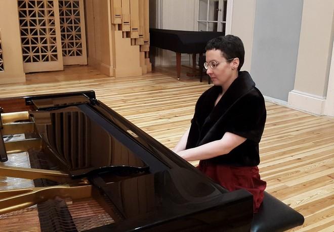 Martinské slavnosti klavíru 2015 - Markéta Cibulková – Sál Martinů HAMU Praha (foto Martinské slavnosti klavíru)