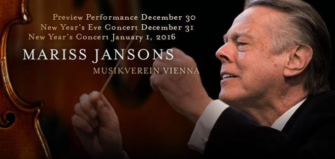 New Year's Eve Concert - Wiener Philharmoniker & Mariss Jansons (foto archív autorky)