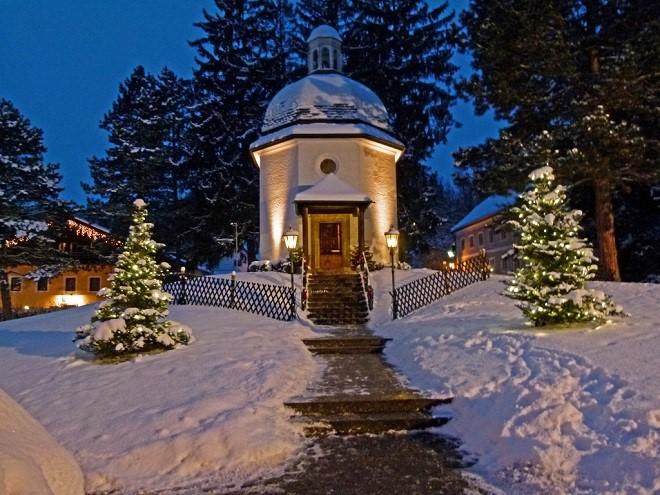 Kaple Tiché noci v Oberndorfu (foto archiv)