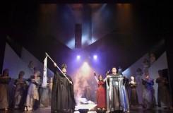 Liberecká Aida v mlze