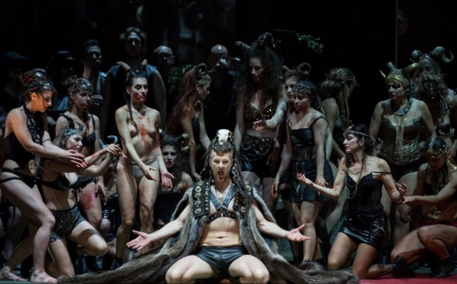 Hans Werner Henze: The Bassarids - Ladislav Elgr (Dionysus) - Teatro dell´Opera di Roma 2015 (foto ©Yasuko Kageyama / Teatro dell'Opera)