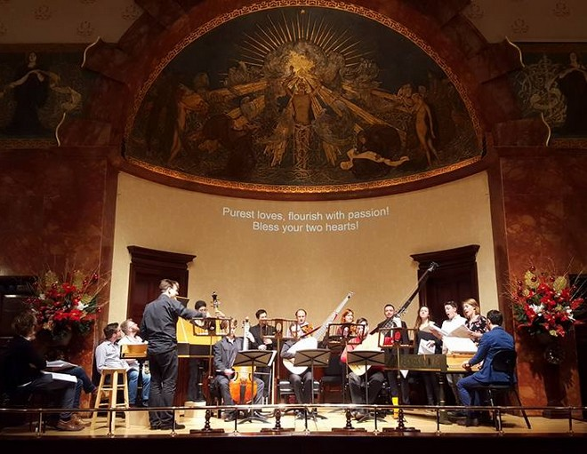 Antonio Cesti: Orontea - zkouška ve Wigmore Hall (foto FB La Nuova Musica)