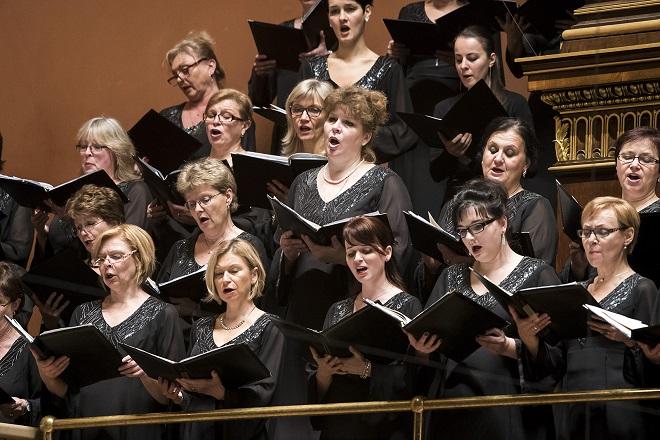 Pražský filharmonický sbor - Praha 17.12.2015 (foto ČF)