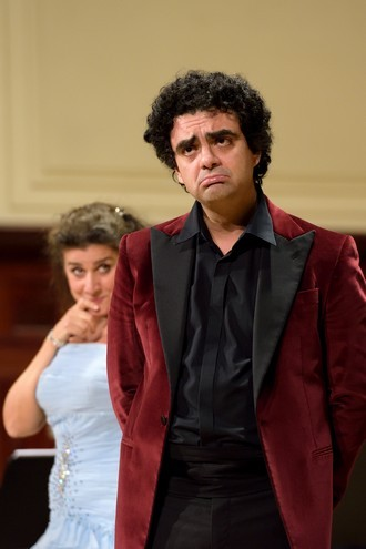 Cecilia Bartoli & Rolando Villazón - Rolando Villazón (tenor) - Smetanova síň Obecního domu Praha 2015 (foto Petr Dyrc)