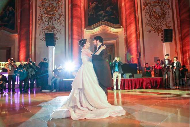 Anna Netrebko a Jusif Eyvazov - Vídeň 30.12.2015