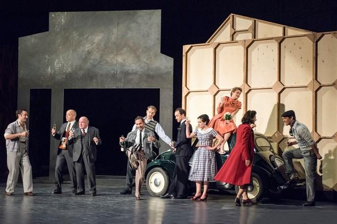 Jean-Baptista Lully: Monsieur de Pourceaugnac - Théâtre de Caen 2015 (foto FB Théâtre de Caen)