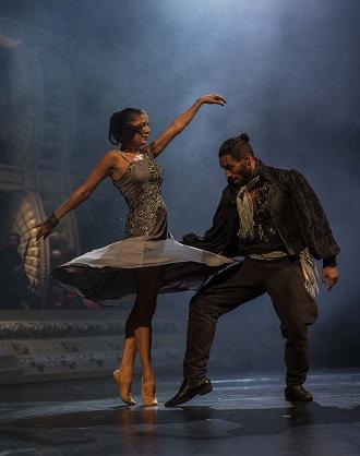 Bizet/Šarközi: Carmen à la Gypsy Devils - Katarína Kaanová (Michaela), Ivan Martiš (José) - SND 2015 (foto Peter Brenkus)