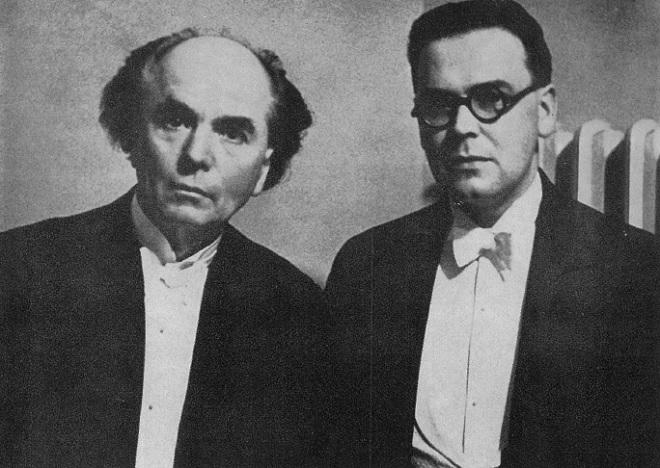 Jan Kubelík a Alfréd Holeček