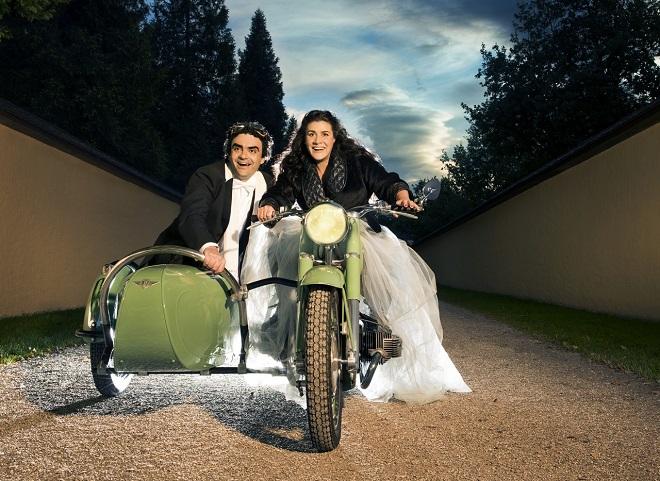 Rolando Villazón, Cecilia Bartoli (foto © Douglas Kirkland)