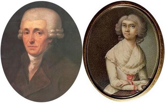Franz Joseph a Anna Marie Haydnovi (foto archiv autora)