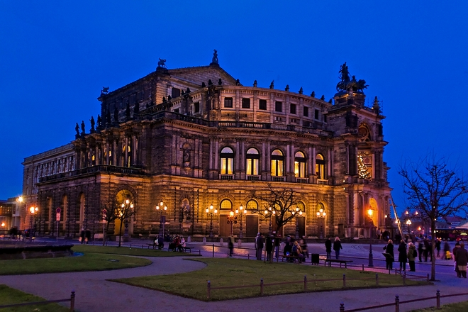 Semperoper (foto archiv)