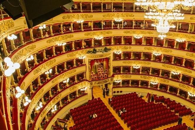 Teatro alla Scala milán (foto archiv)