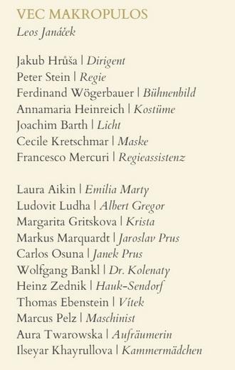 L. Janáček: Věc Makropulos - WSO 2015