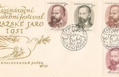 Výpravy k operám, ilustrace not, hudba na poštovních známkách. Před 120 lety se narodil Karel Svolinský