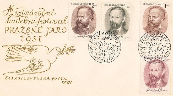 Karel Svolinský - návrhy známek a dopisnice (foto archiv)