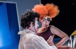 G. Verdi: Rigoletto - Ondřej Koplík (Vévoda z Mantovy), Dana Šťastná (Maddalena) - Moravské divadlo Olomouc 2016 (foto Jan Procházka)