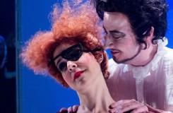 G. Verdi: Rigoletto - Barbora Martínková-Polášková (Maddalena), Ondřej Koplík (Vévoda z Mantovy) - Moravské divadlo Olomouc 2016 (foto Jan Procházka)
